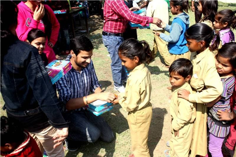Relief India Trust Even Small things can make Every