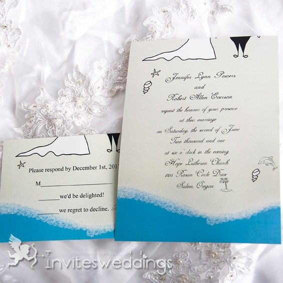 Pin By Invitesweddings On Weddings Beach Wedding Invitations Diy Beach Wedding Invitations Beach Invitations