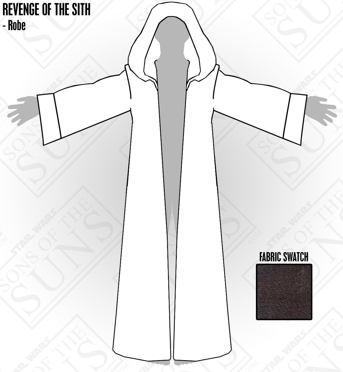 Sons of the Suns.com | Revenge of the Sith Costume | Projects to Try ...