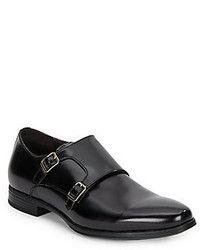 eb844099400c Zapatos con Doble Hebilla de Cuero Negros de Mr. Hare. Comprar por ...