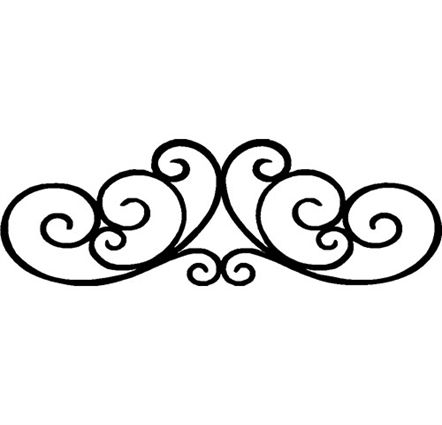 cross scroll cliparts free download clip art free clip art rh pinterest co uk