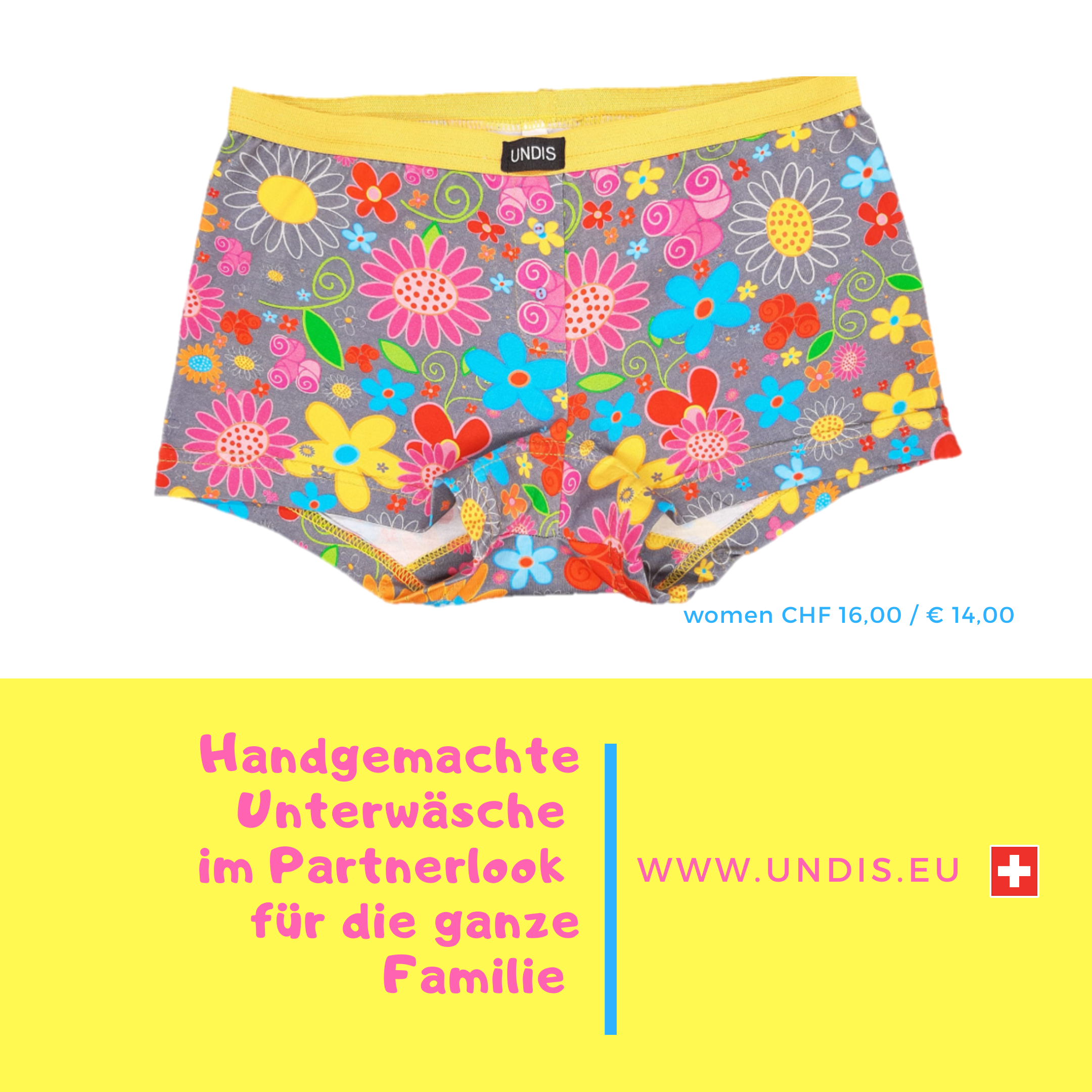 UNDIS www.undis.eu Die handgemachte Unterwäsche im