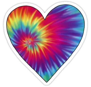 14+ Tie dye heart clipart information