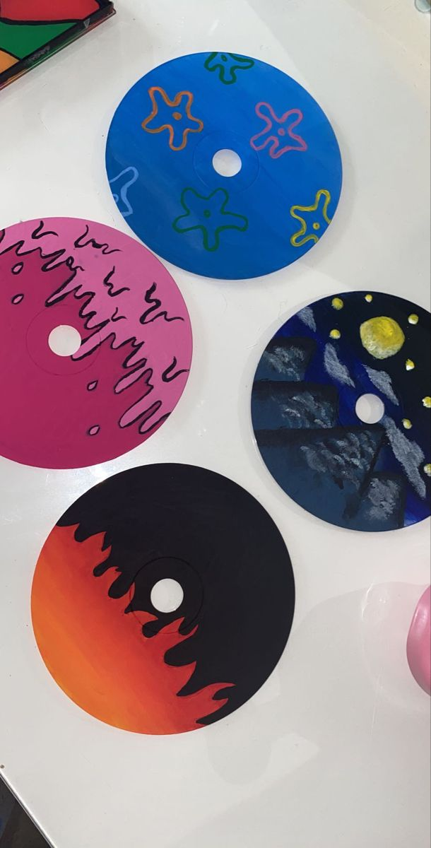 cd painting