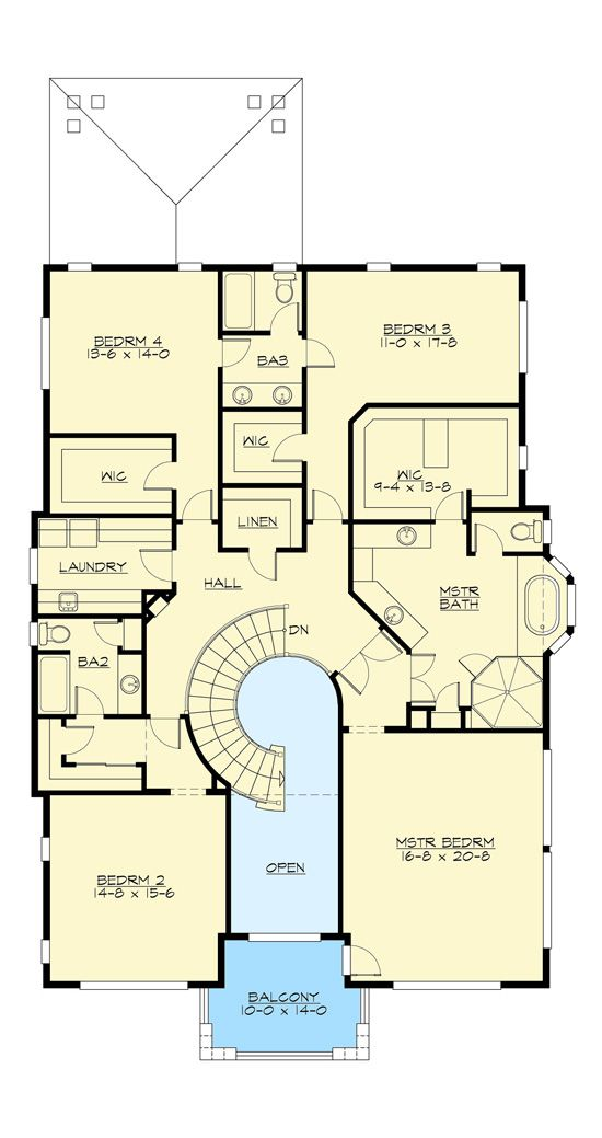 Plan 290038iy Expandable Two Bedroom Northwest House Plan House Plans Craftsman House Plans Architectural Design House Plans