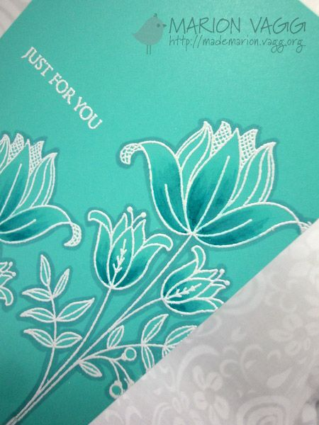 Embossing with Copics