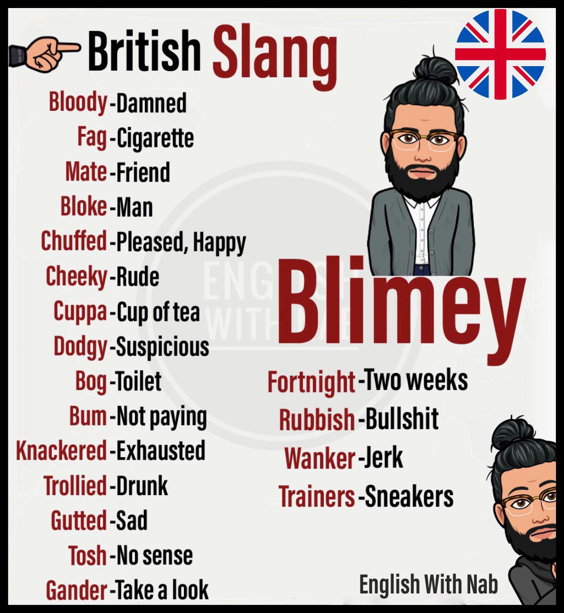 British Slang In