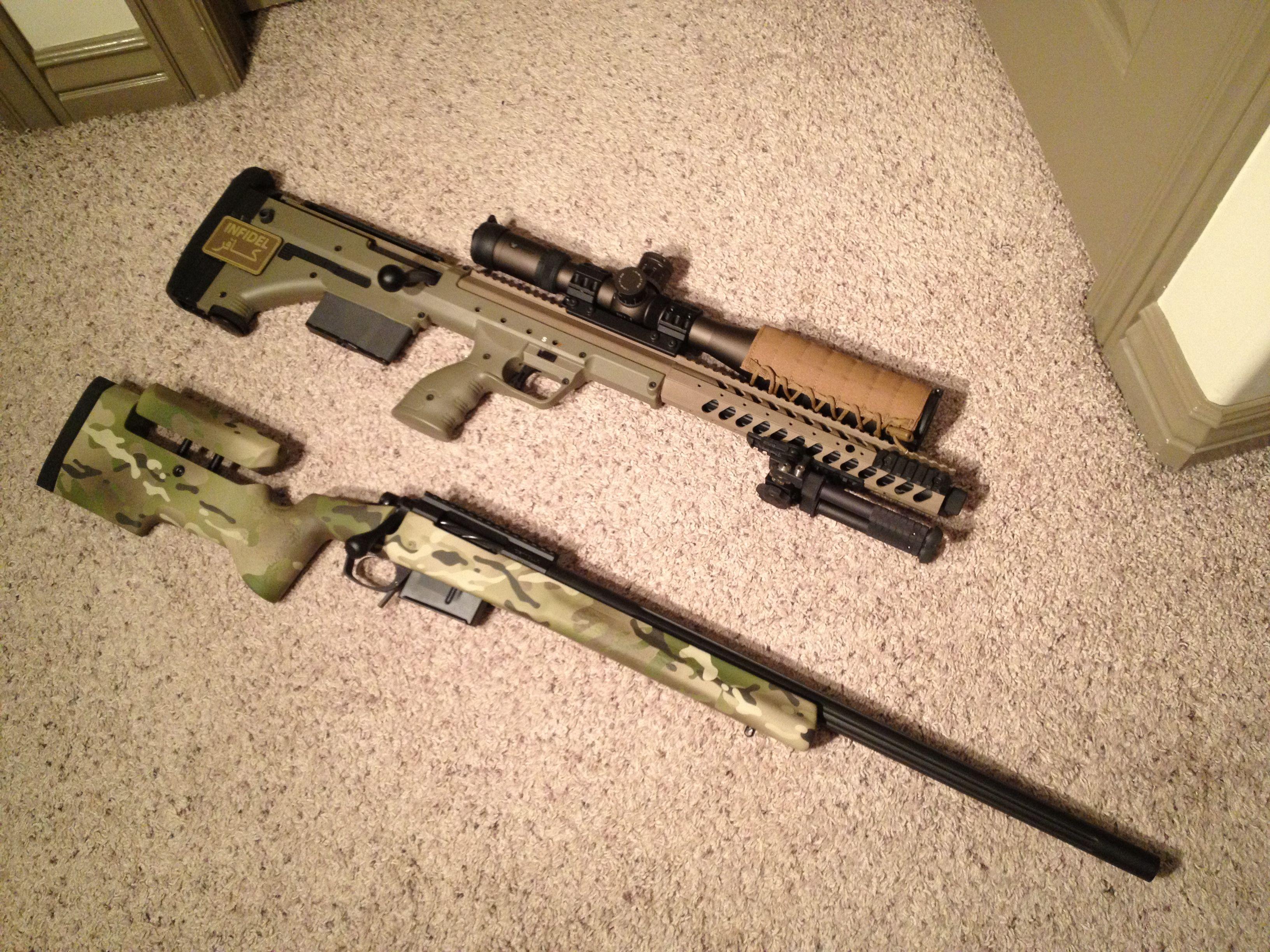 DTA SRS vs. GAP Hospitaller Sniper Rifles Pinterest