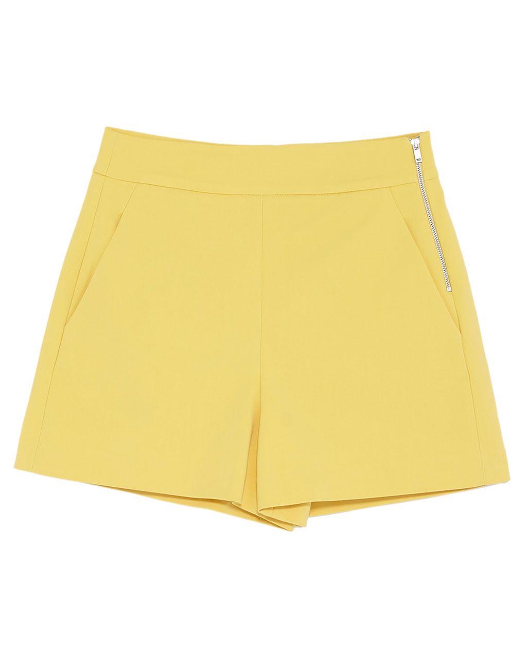 Way Tiro Alto Milky España Shorts MujerZara Short T3KJlc1F