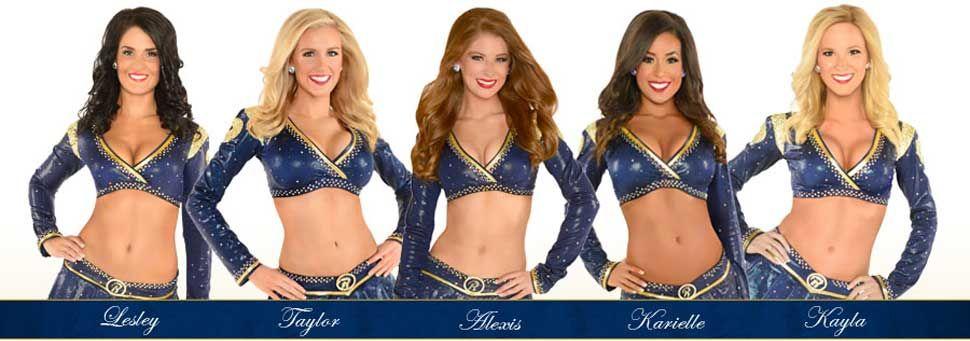 St Louis Rams Cheerleader Roster Cheerleading Nfl Rams Los Angeles Rams