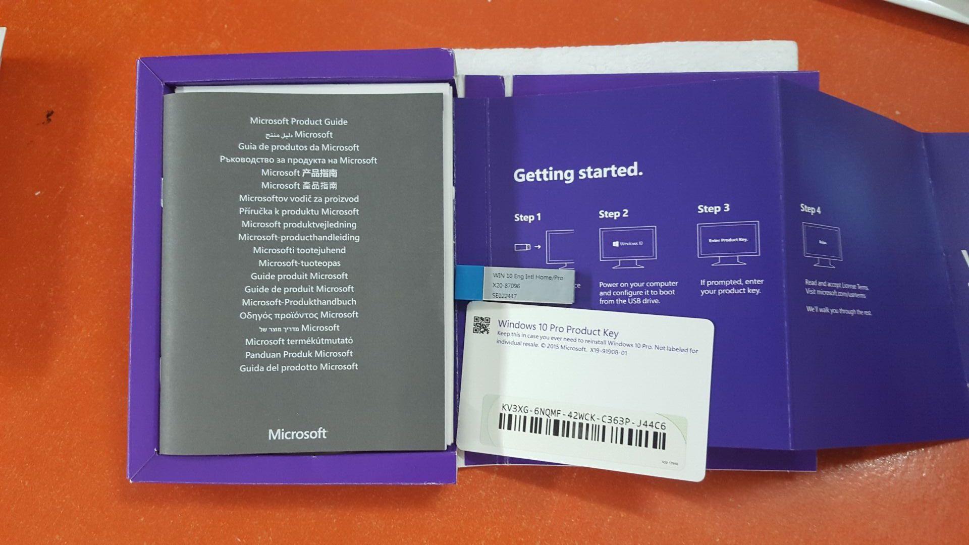 microsoft windows 10 pro english usb flash drive