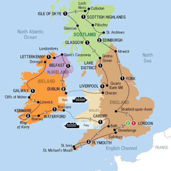 Larger map Calatorii Pinterest Britain Ireland and Travel stuff