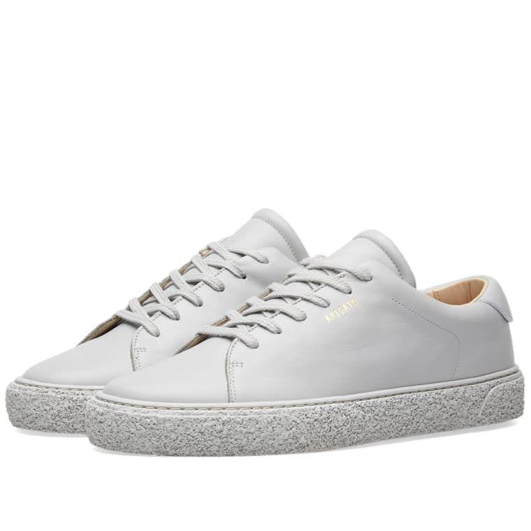 Axel Arigato Vintage Sole Tennis Sneaker (Monochrome Light Grey Leather) | END.