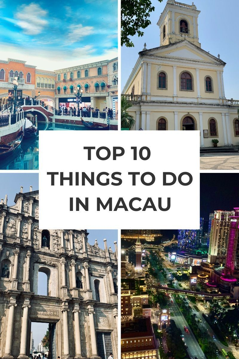 Macau China Things To Do | Visit Macao China for an intriguing mix of ultra-modern Vegas like hotels and casinos and old-world heritage buildings and even giant pandas. This Macau travel guide covers the top 10 things to do in Macau China for your very first visit to Macau! | Things to do in Macao China | Macau Attractions | Macau Architecture | Macau Panda #macaochina #macautravelguide