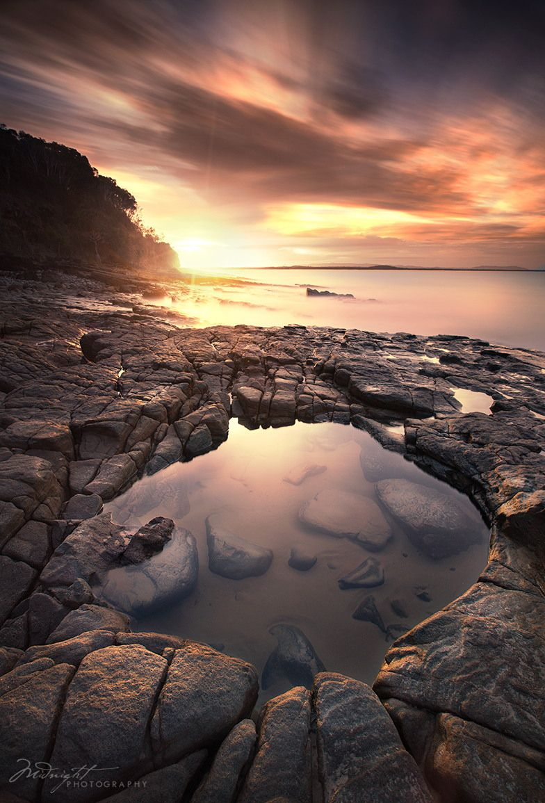 Sunset from Noosa National Park by Chrystal Hutchinson | Midnight Photography on 500px
