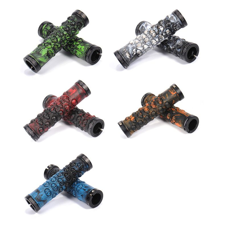 Check Price Super Cool Anti Bacteria Mtb Handlebar Grips Tpr