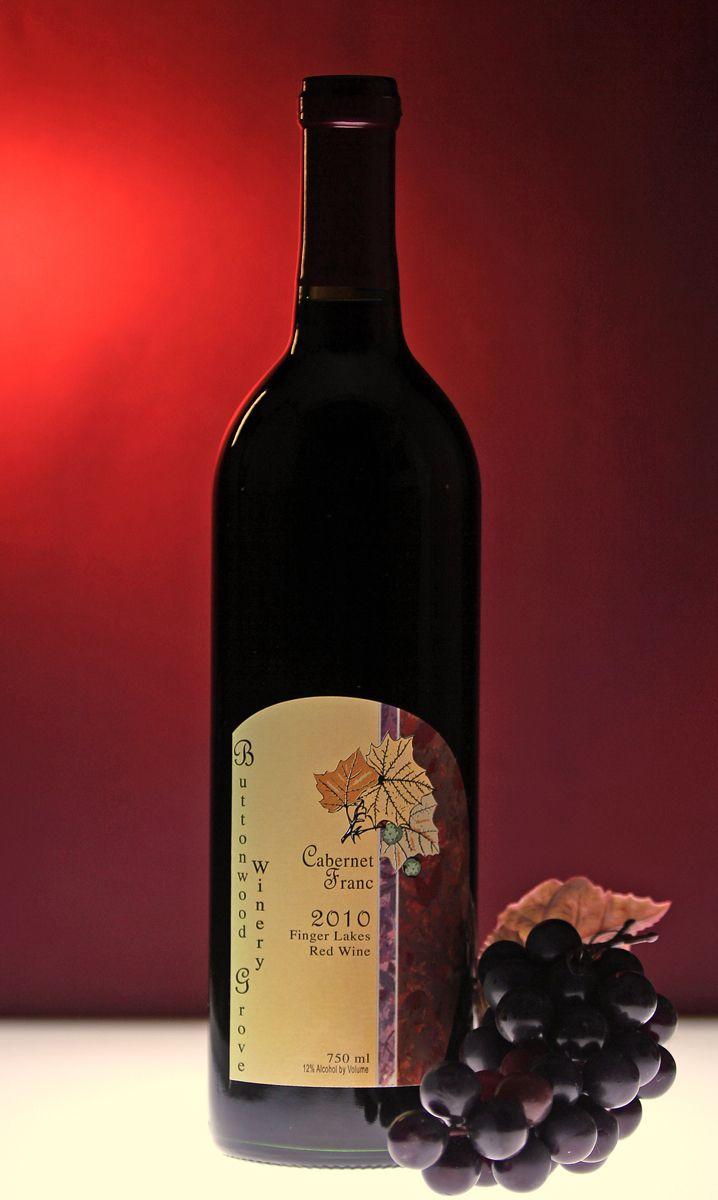 Buttonwood Grove Winery Cabernet Franc Finger Lakes Cabernet Franc New York Wineries Wine Bottle