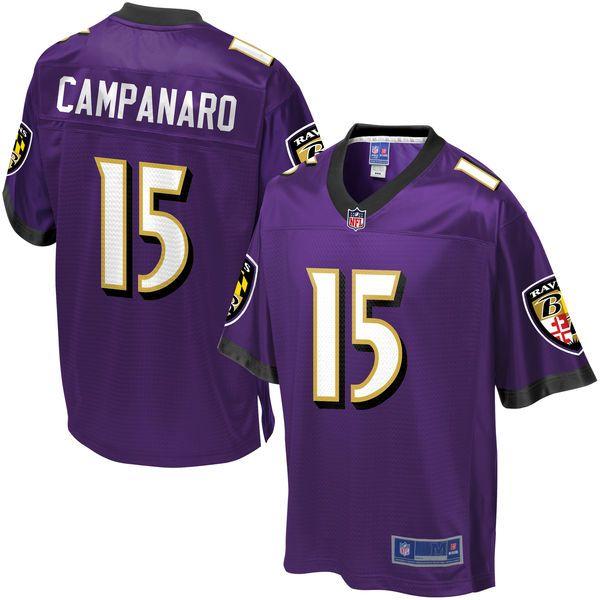 NFL Pro Line Youth Baltimore Ravens Michael Campanaro Team Color Jersey -   74.99 Seahawks Michael Bennett 6db4e8ac7