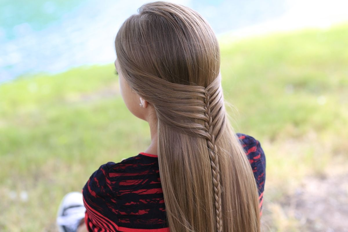 Mermaid Braid and more Hairstyles from CuteGirlsHairstylescom
