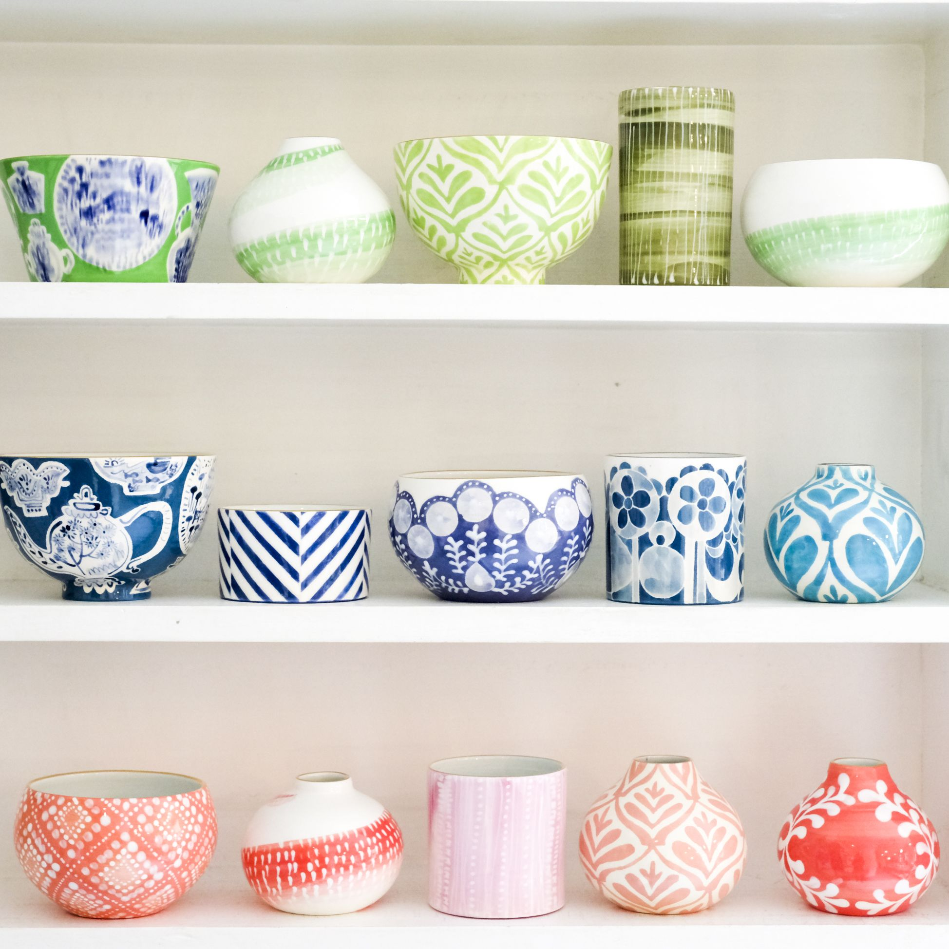 Colored ceramics! | Pottery painting designs, Ceramics ideas pottery, Ceramics  pottery art