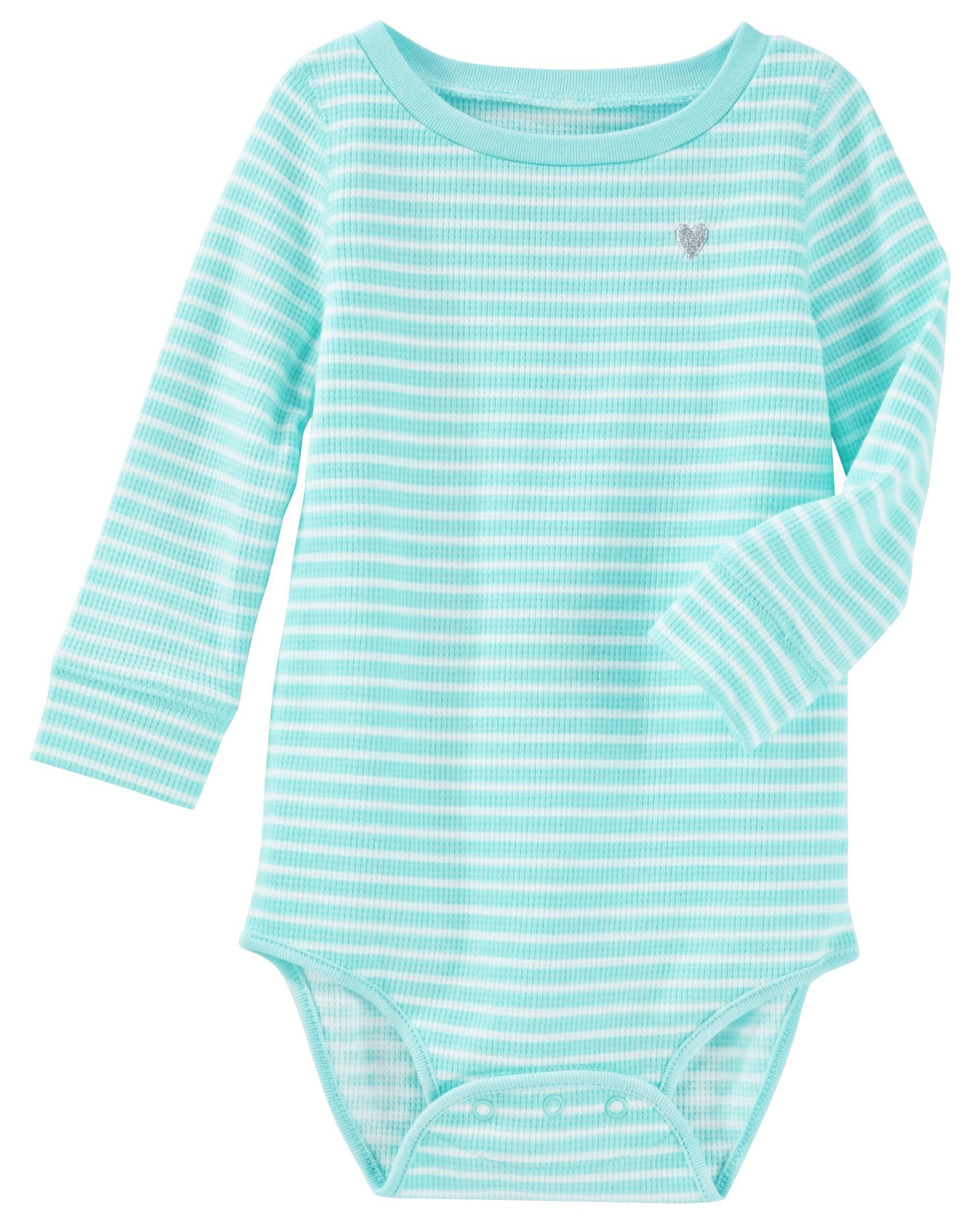 Stripe Thermal Bodysuit
