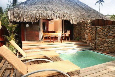 Moorea Pearl Beach Resort Garden Bungalow With Pool Holiday Home Pearl Beach Resort Resort Spa