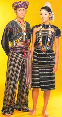 Jenis Pakaian Di Malaysia Pakaian Suku Kaum Rungus Wanita Bergaya Pakaian Wanita Pakaian