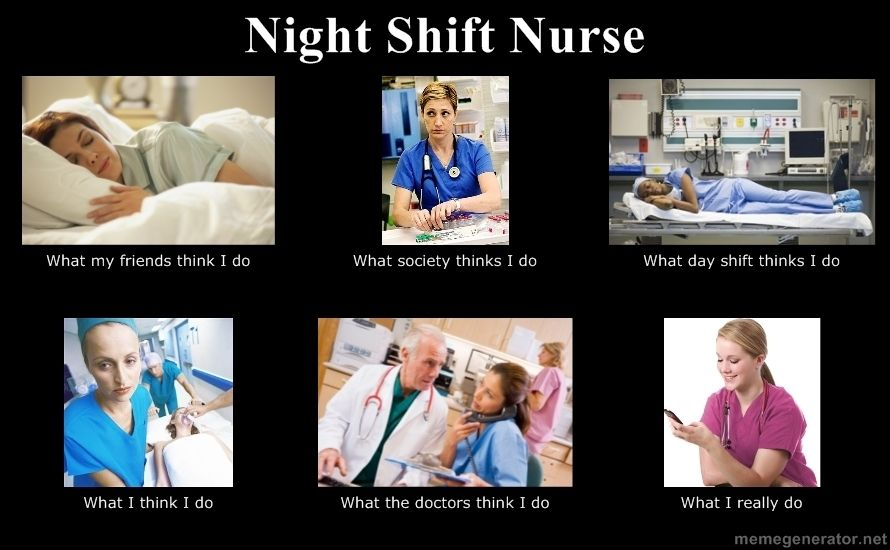 Night Shift Nurse Nicu, Nachtdienst