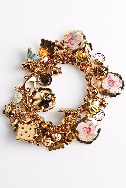Alice in Wonderland Bracelet by Tom Binns for Disney Couture