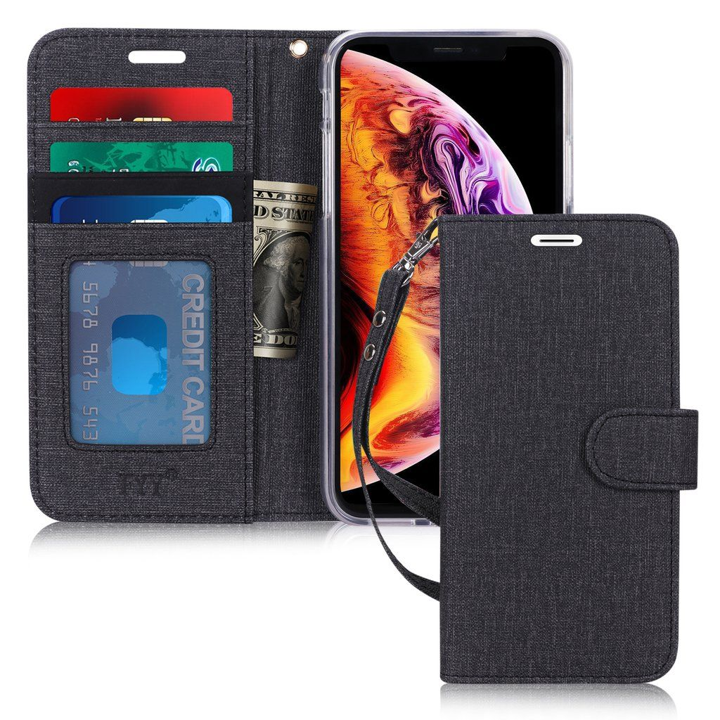 Canvas wallet case for iphone xr 61 2018 iphone