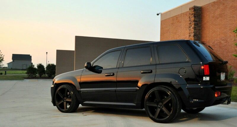All Black Everything Srt8 Jeep Jeep Grand Cherokee Srt8 Jeep