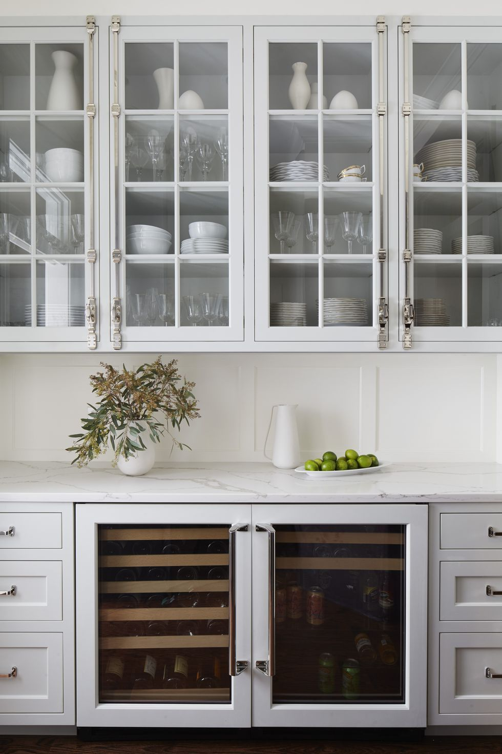 Powder Room By Amy Kartheiser Design: 45 Functional Butler's Pantries With Endless Charm