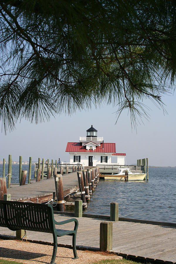 ✯ Roanoke Marshes Lighthouse - Roanoke, North Carolina