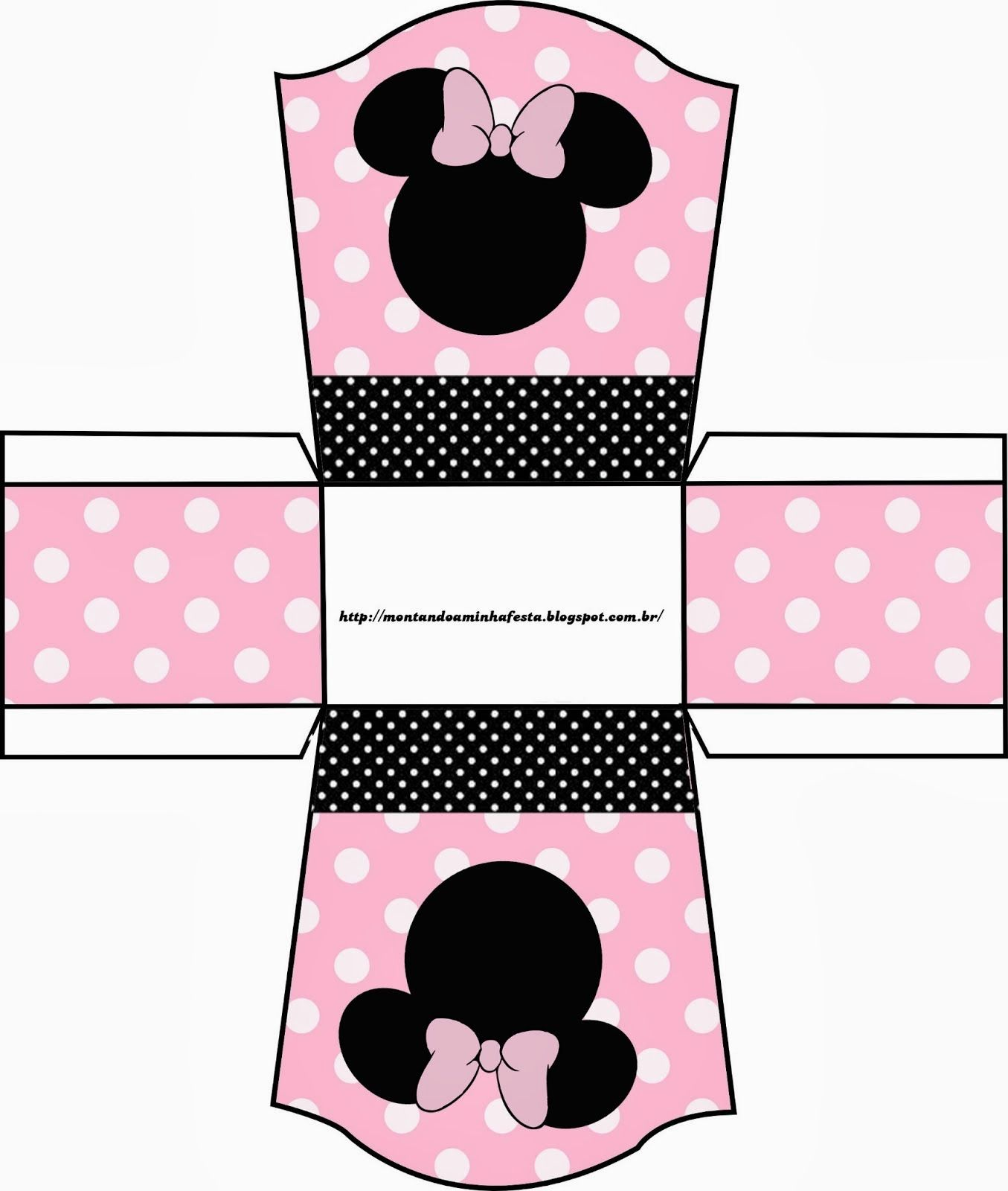 Minnie Rosa: Cajas para Imprimir Gratis.   cumple franche ...