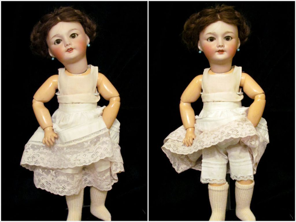 """Antique 15 1/2"""" French Bebe by SFBJ mold 301 ~ 1900ca+~ from antiquedollplace on Ruby Lane"""