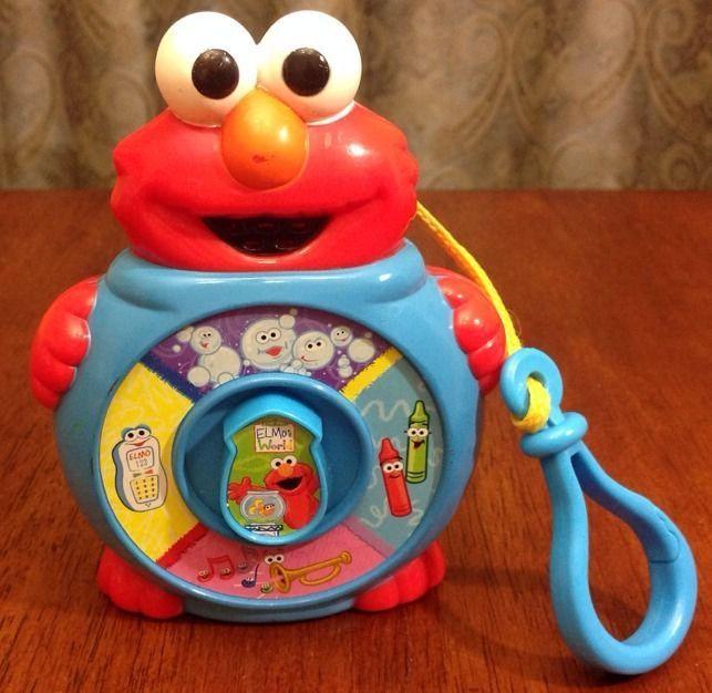 Sesame Street Elmo S World See N Say Junior Jr Mini 2004 Travel Clip Mattel Sesame Street Elmo See And Say