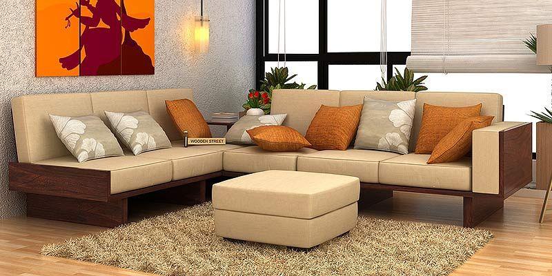 Juego De Sofas De Madera Compre Juegos De Sofas De Madera En Linea En India Hasta Un 55 De Descuento Sofa Set Sofa Set Designs Corner Sofa Set
