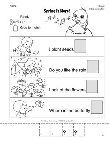 The Mailbox Middle School Grammar Worksheets Preschool Reading Middle School Grammar Punctuation worksheets for preschoolers