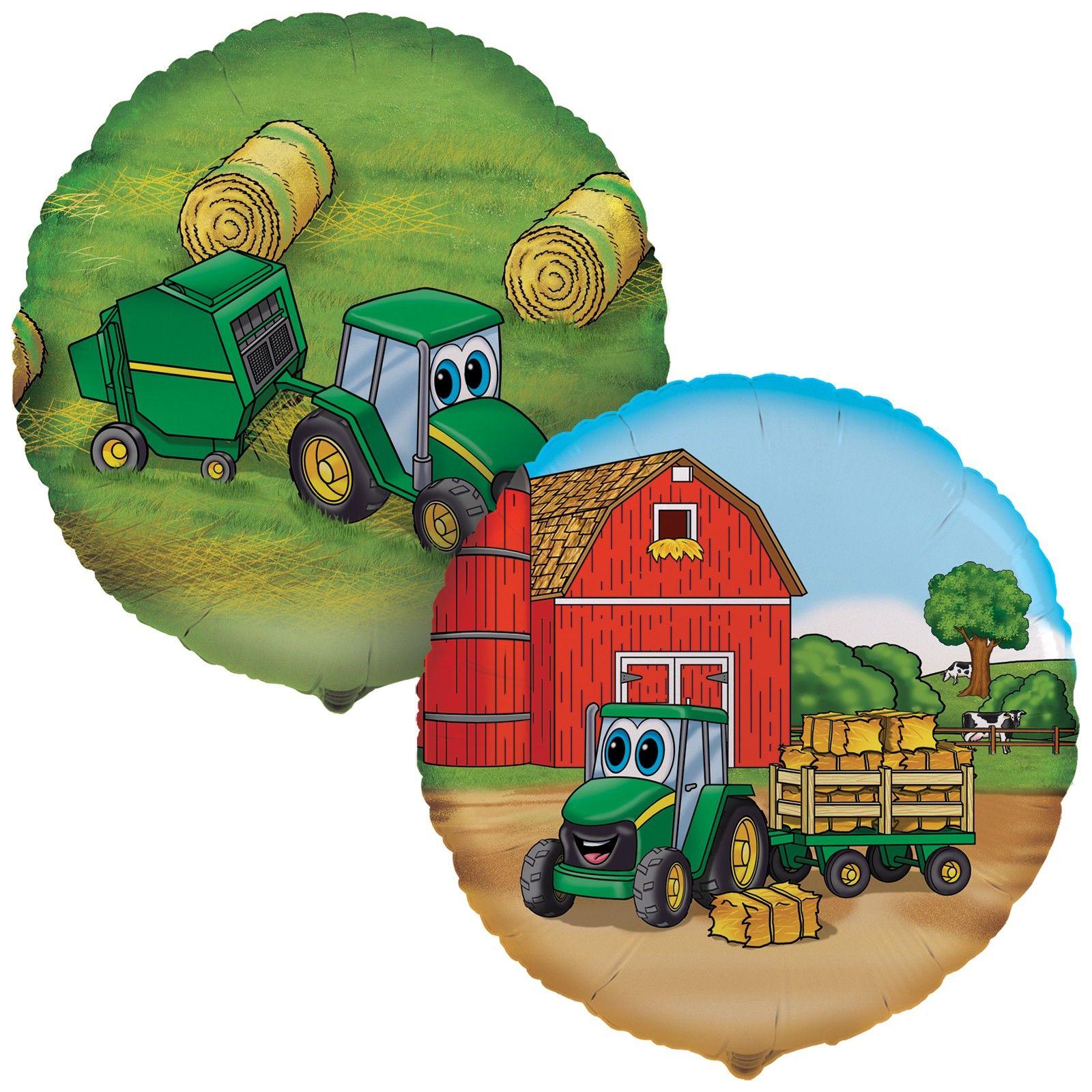 Johnny Tractor Birthday Party Balloons | Johnny Tractor Birthday ...