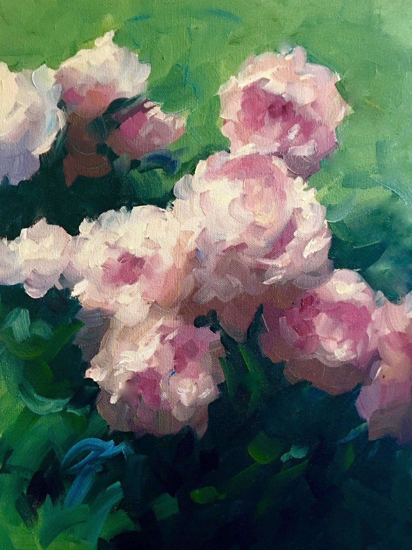 """Sarah Bernhardt"" oil on canvas 16"" x 12"""