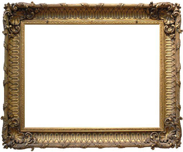 Frame 16 - Ornate Gold | Tarjetas vintage y Tarjetas