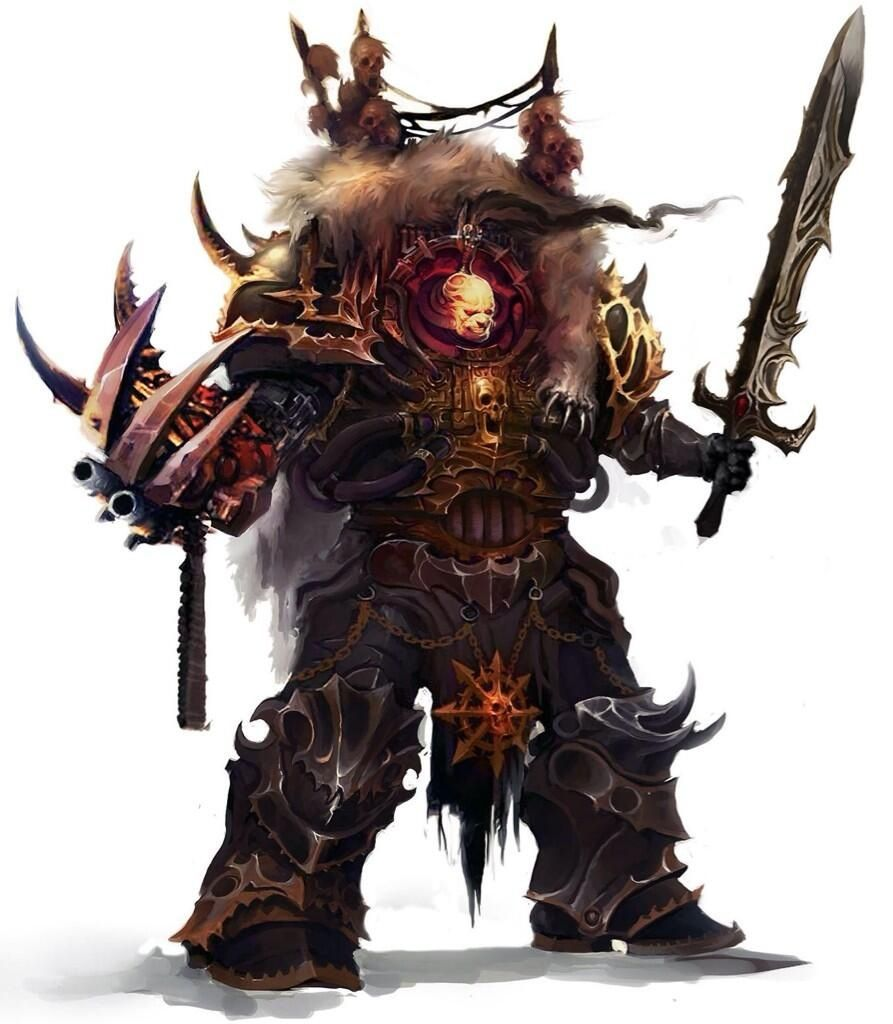 Abaddon, the Despoiler, Primarch of the Black Legion