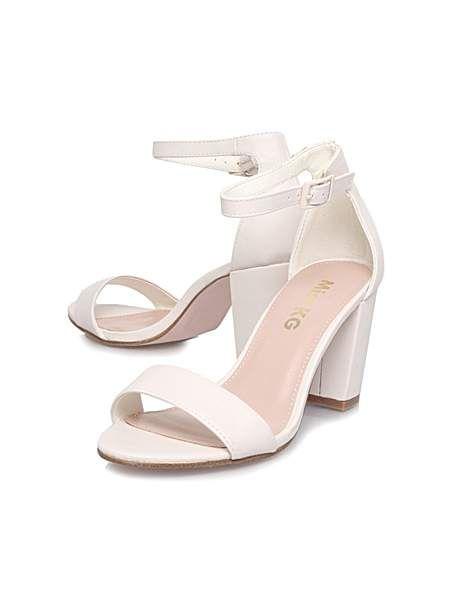 0c7ce1622386 KG Paige mid heel sandals. KG Paige mid heel sandals White Block Heel Shoes  ...