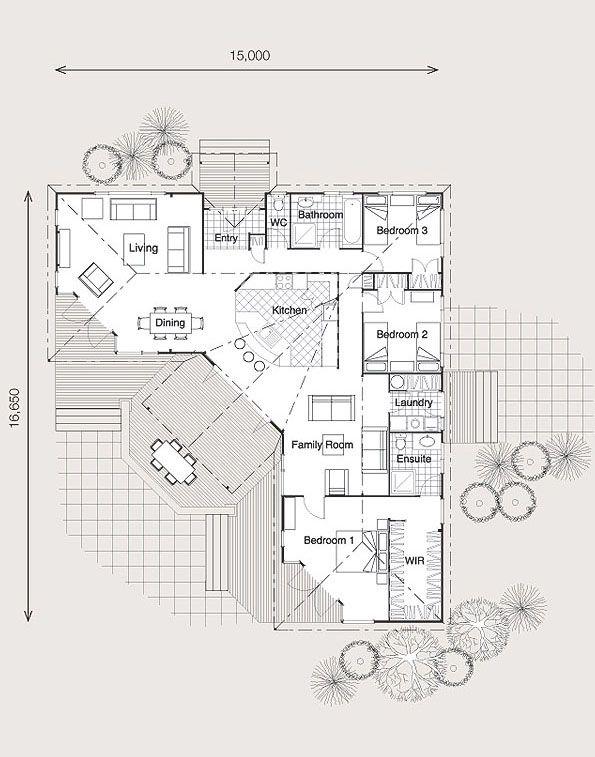 Jamaican Floor Plan C Lockwood 2010 Unusual Floor Plan Floor Plans House Floor Plans How To Plan