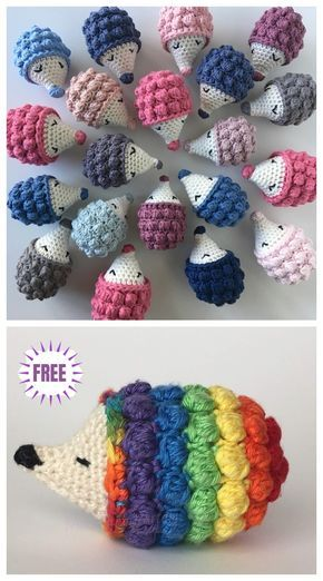 Crochet Diddy Hedgehog Amigurumi Free Pattern – Video