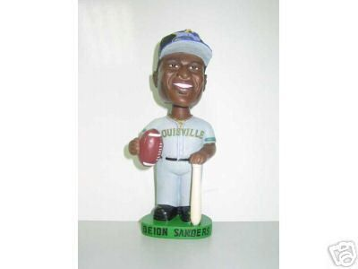 Deion Sanders Louisville Riverbats bobblehead doll - Promotional Stadium  (SGA) bobblehead - Distributed in 2003 exclusively to season tickets  holders - This ... 16d145bda