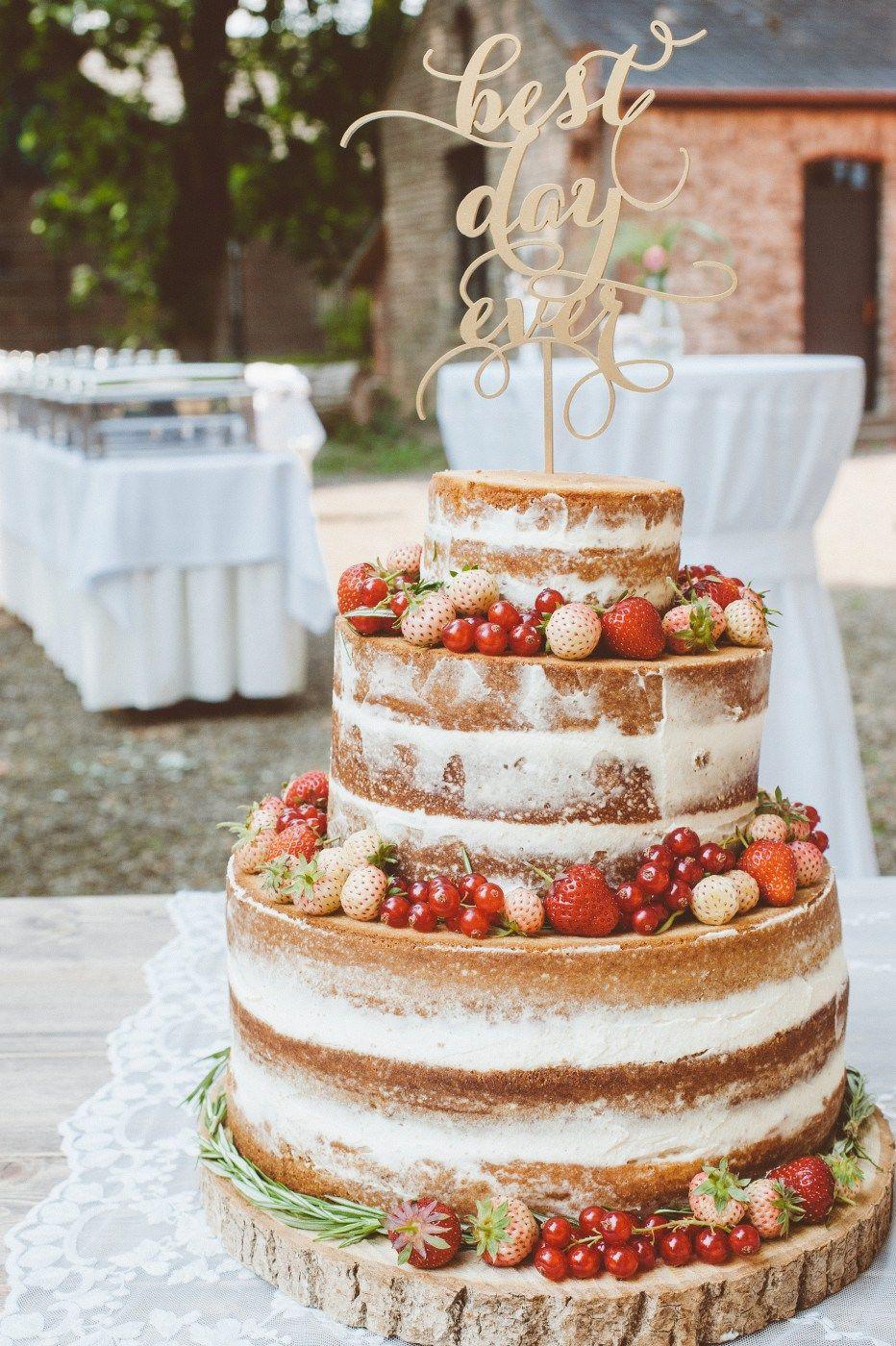 Very Berry Wedding Cake Hochzeitstorten