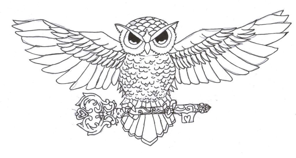 Owl tattoo design   Tattoos   Pinterest