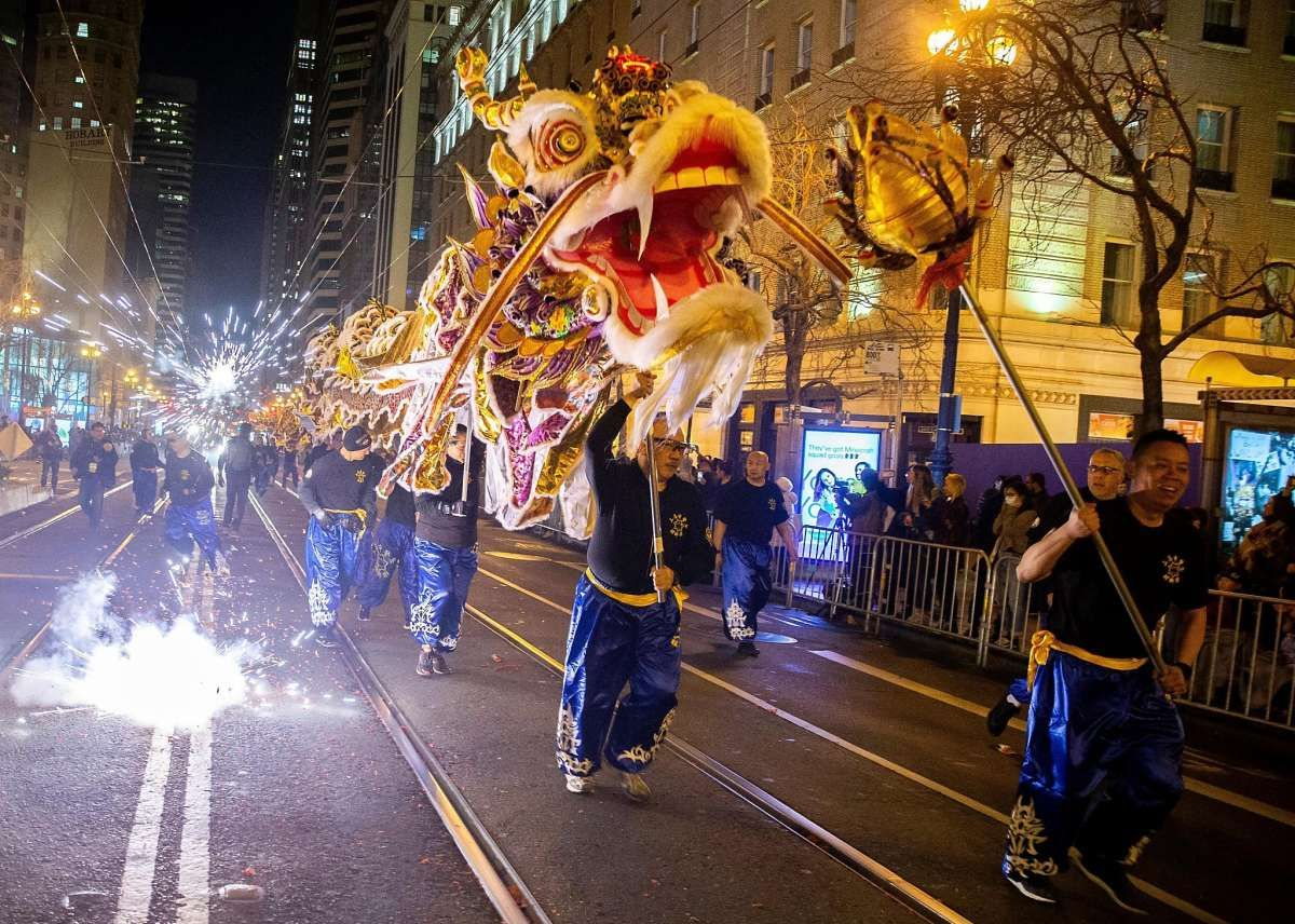 Visual Essay Chinese New Year Parade 2020 in 2020 New