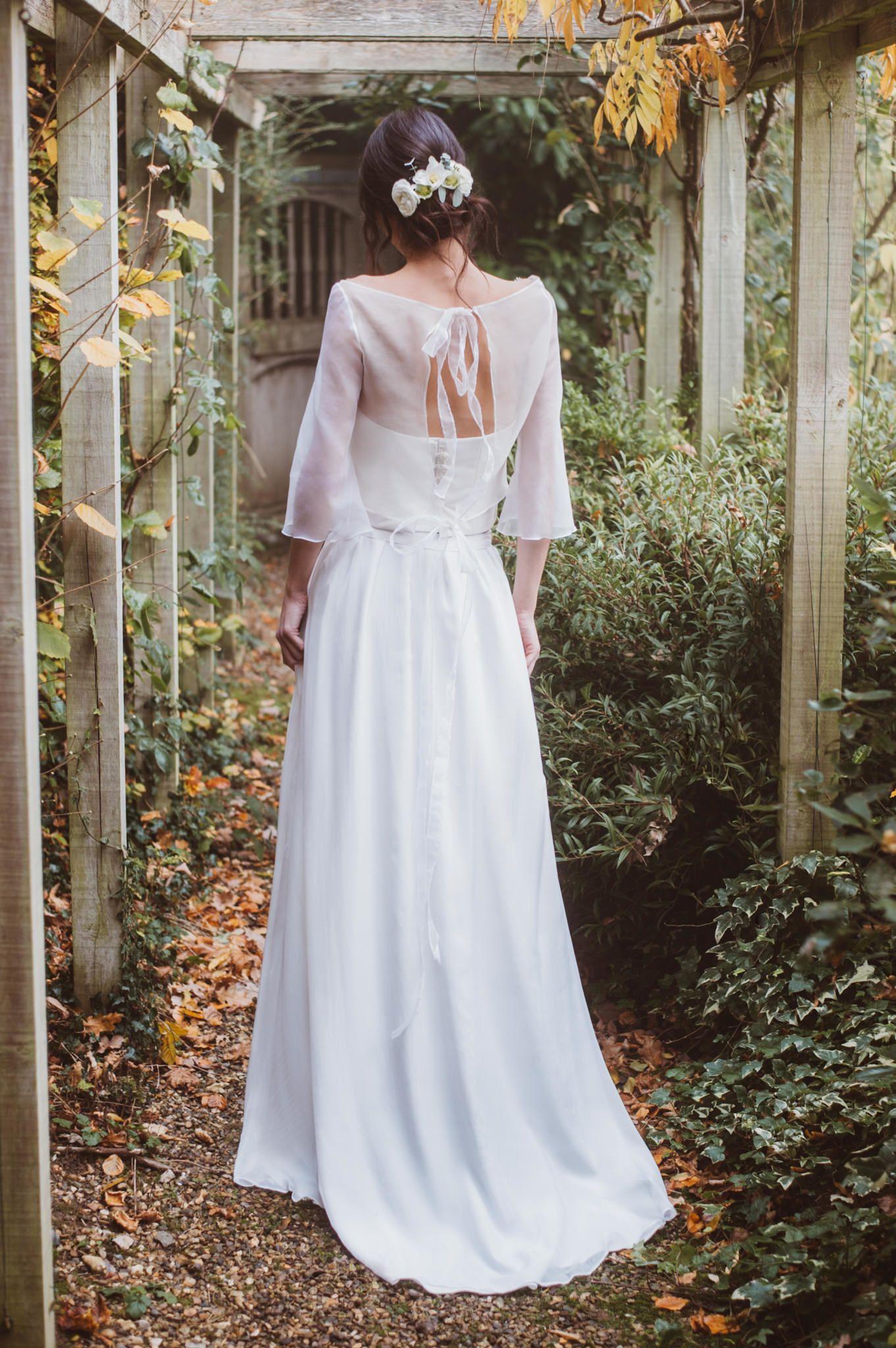 Bohemian bride bridal separates by jessica turner designs